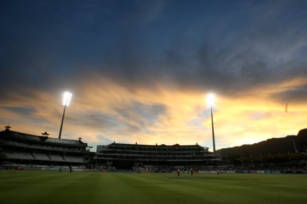 Newlands Cricket Ground at Sunset