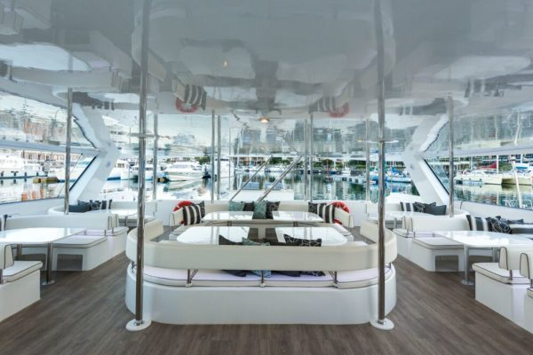 The Mirage Luxury Yacht Cockpit