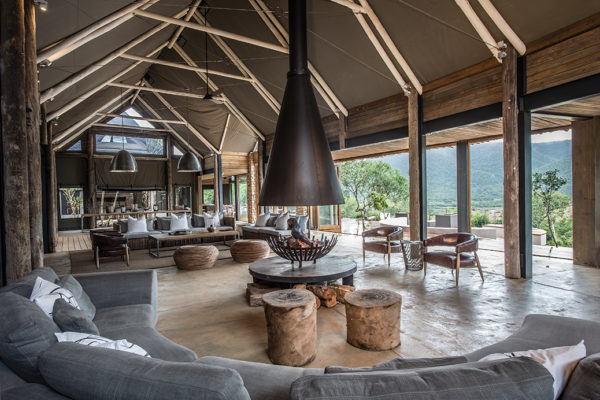 Kariega Luxury Lodge Lounge